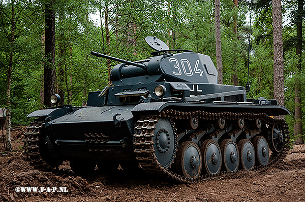 Panzer 2  The 304 Of the Musee Les Blindes Samur  Overloon 14-05-2016