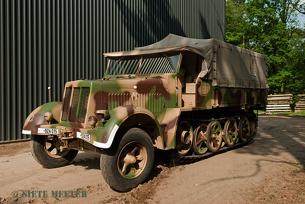 Sdkfz_7     924015  of the Crompton Collection.   Overloon 15-05-2011