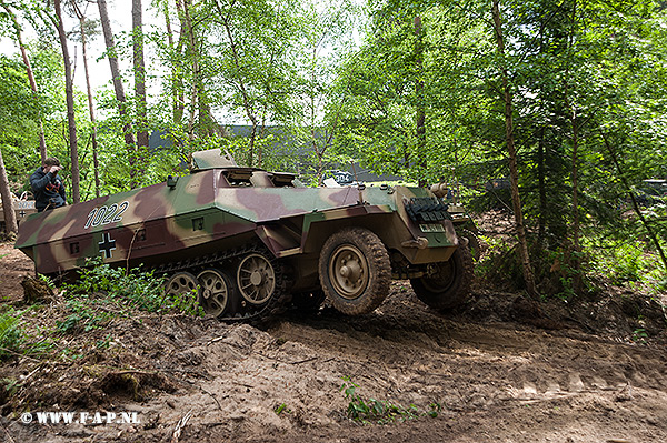 SD-Kfz-251 1022  Overloon 15-05-2016     The Cromton Collection